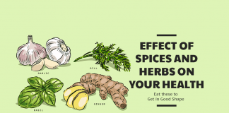 Effect of Spices and Herbs On Your Health
