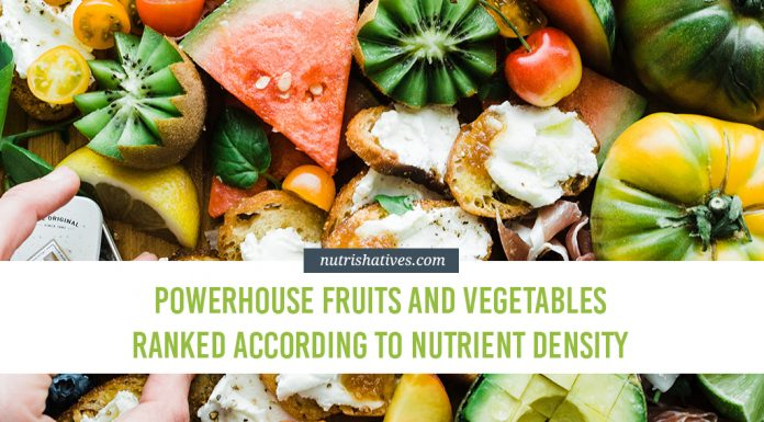 Powerhouse Fruits and Vegetables Ranked According to Nutrient Density