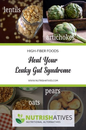 Heal your leaky gut syndrome with high-fiber foods