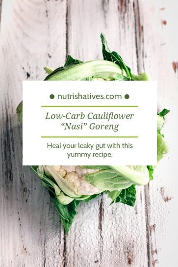Low-Carb Cauliflower Nasi Goreng