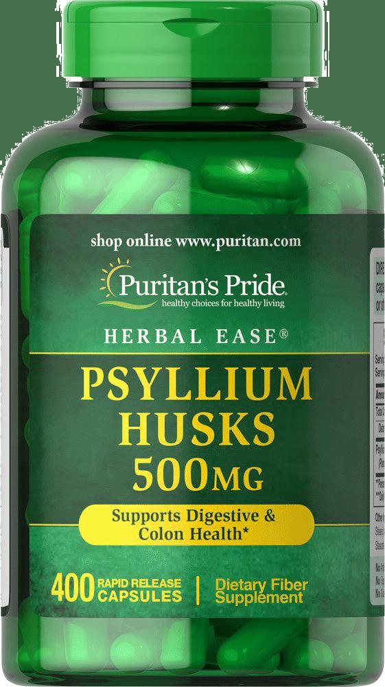 Puritan's Pride Psyllium Husk Capsules