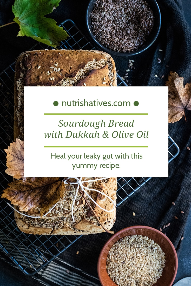 Sourdough Bread with Dukkah & Olive Oil