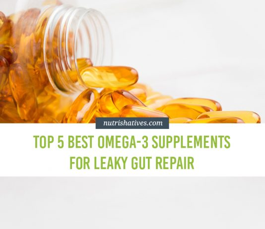 Top 5 Best Omega-3 Supplements for Leaky Gut Repair