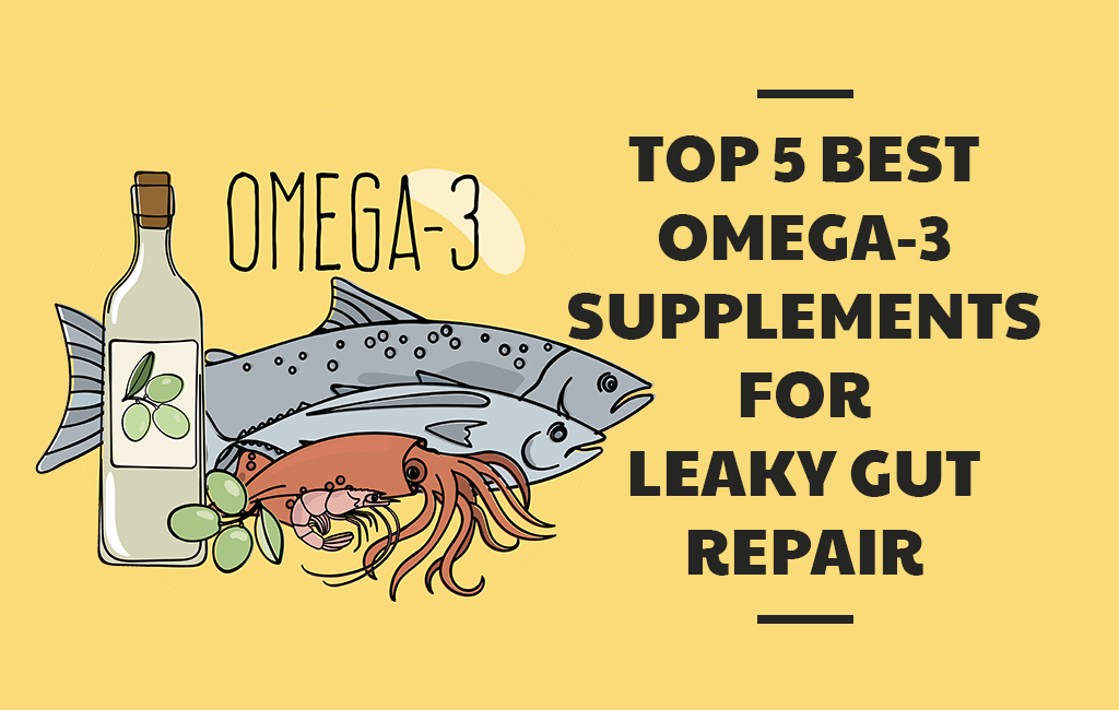 Top 5 Best Omega-3 Supplements for Leaky Gut Repair - Nutrishatives