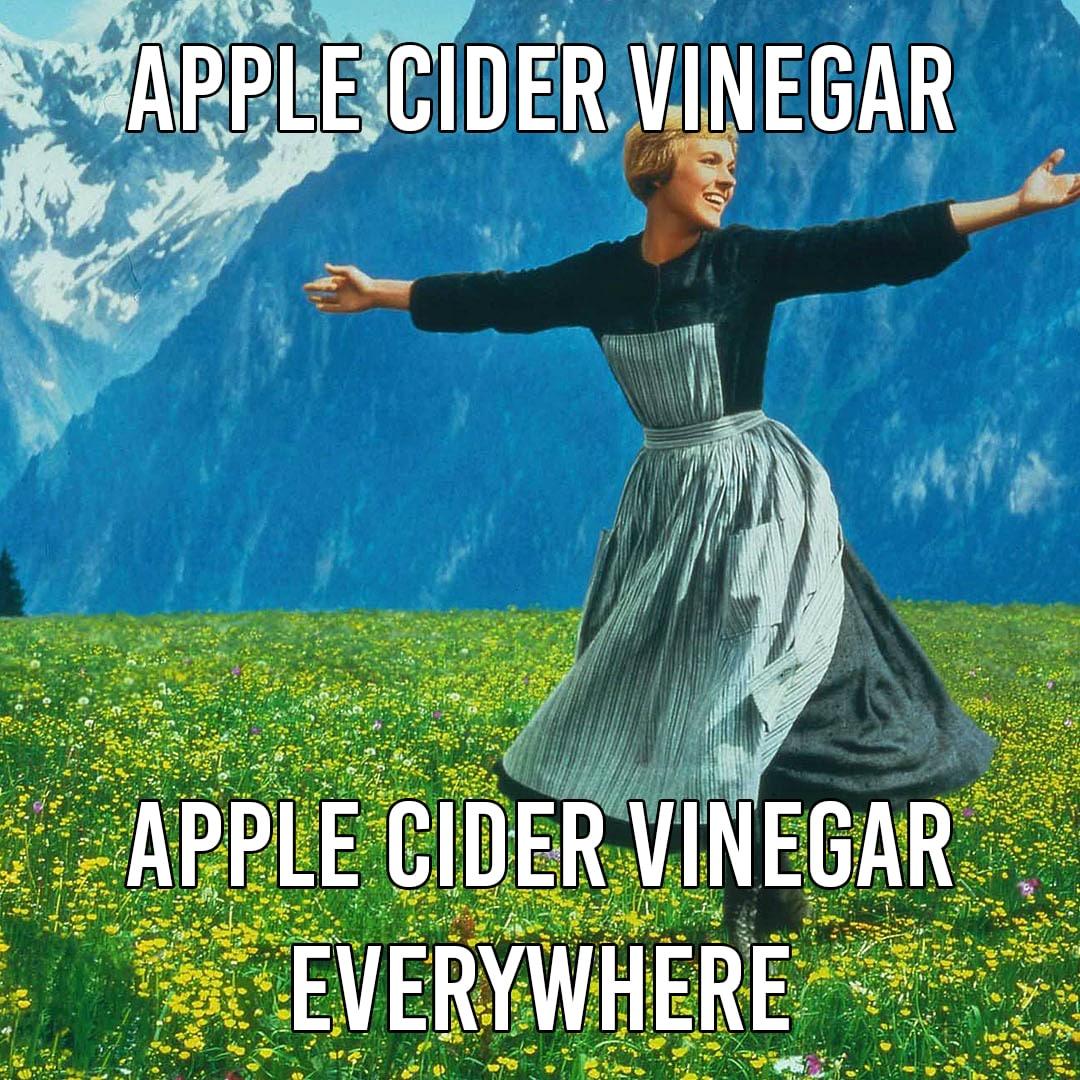 Apple Cider Vinegar Meme