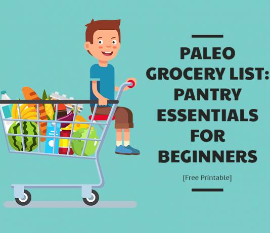 Paleo Grocery List
