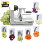 Spiralizer Ultimate Only 7-Blade Vegetable Slicer Strongest Heaviest Duty Veggie Pasta Spaghetti Maker