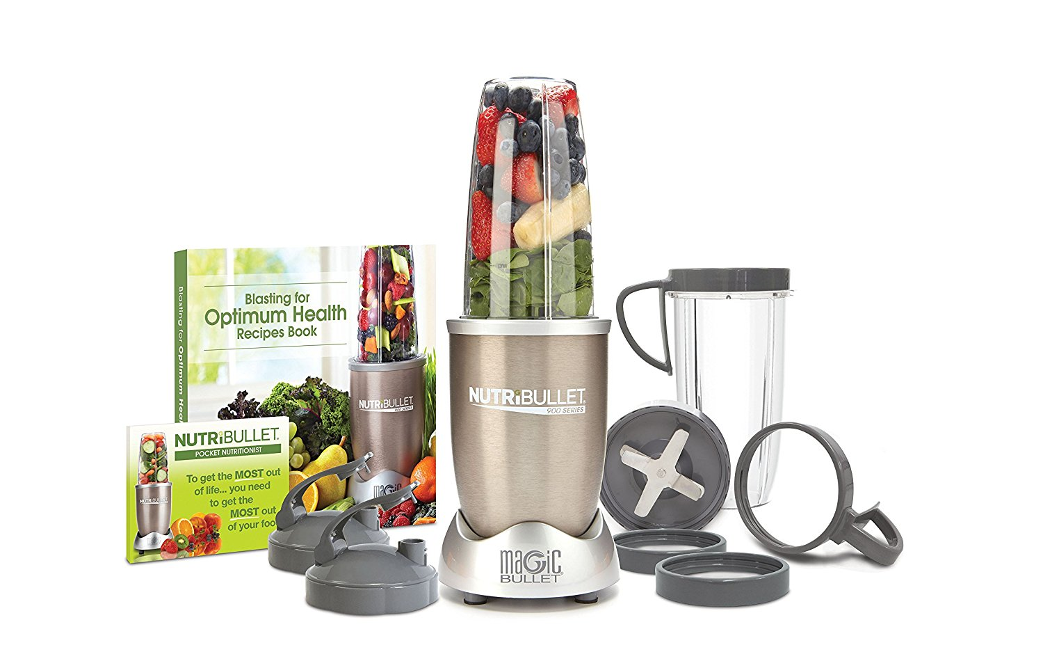 NutriBullet Pro - 13-Piece High-Speed Blender Mixer System