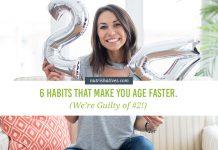 Habits That Make You Age Faster