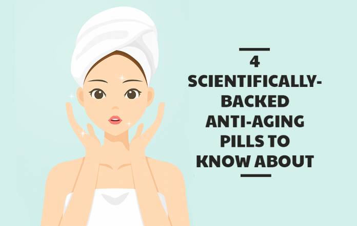 4 Scientifically-Backed Anti-Aging Pills To Know About