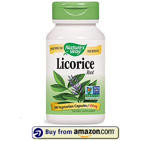 Nature's Way Licorice Root Capsules
