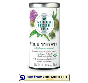 Organic Milk Thistle Superherb Tea