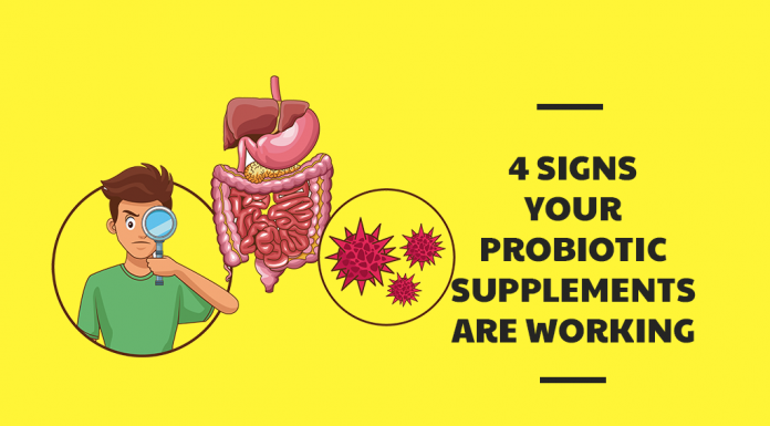 4 Signs Your Probiotic Supplements Are Working