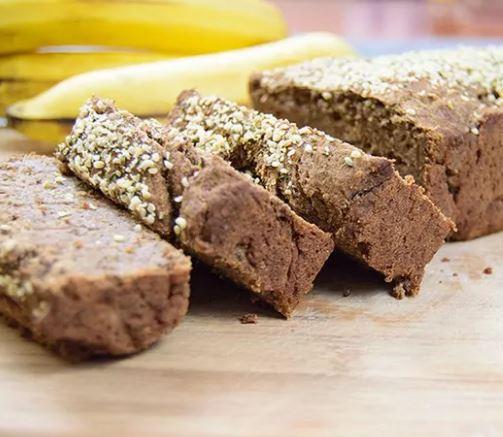 Gluten-free protein banana bread