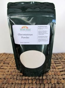 Herbal Island Glucomannan Powder