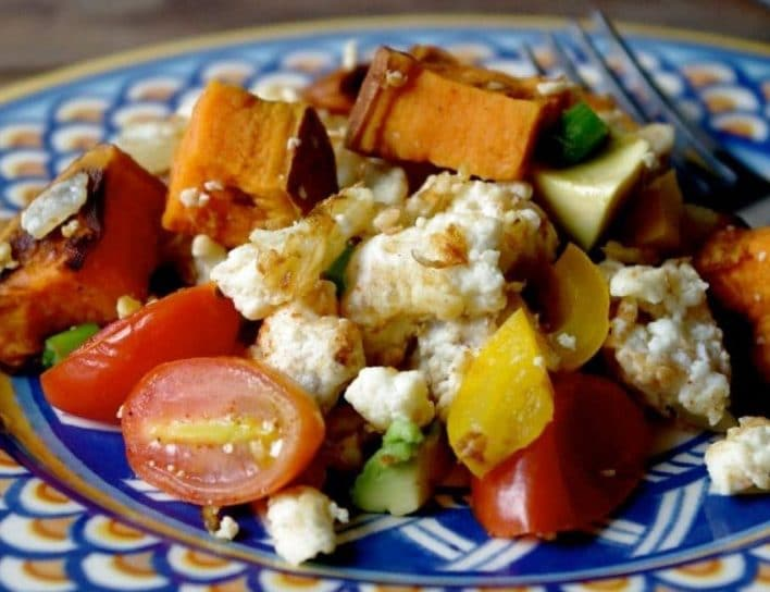 Sweet Potato Scramble
