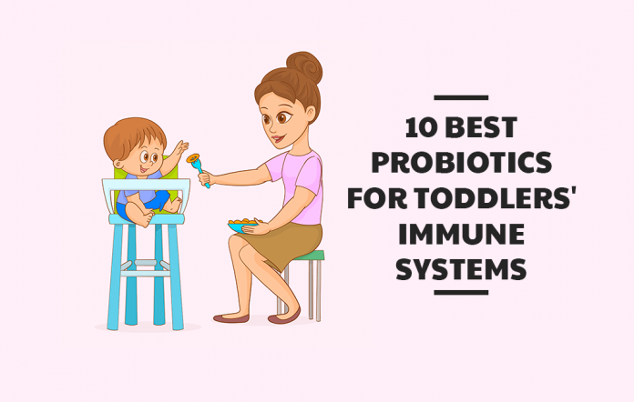 10 Best Probiotics for Toddlers' Immune Systems