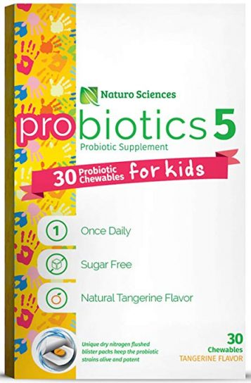 Naturo Sciences Children's Chewable Probiotic