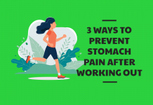 3 Ways to Prevent Stomach Pain After Working Out