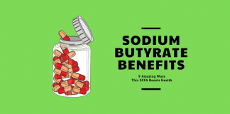 sodium butyrate benefits