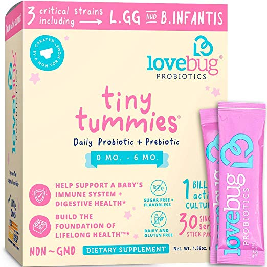 Lovebug Tiny Tummies Probiotic and Prebiotic