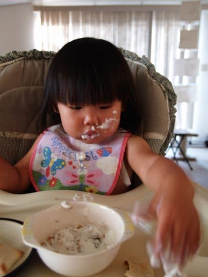 Yogurt is another way to get probiotics for babies.